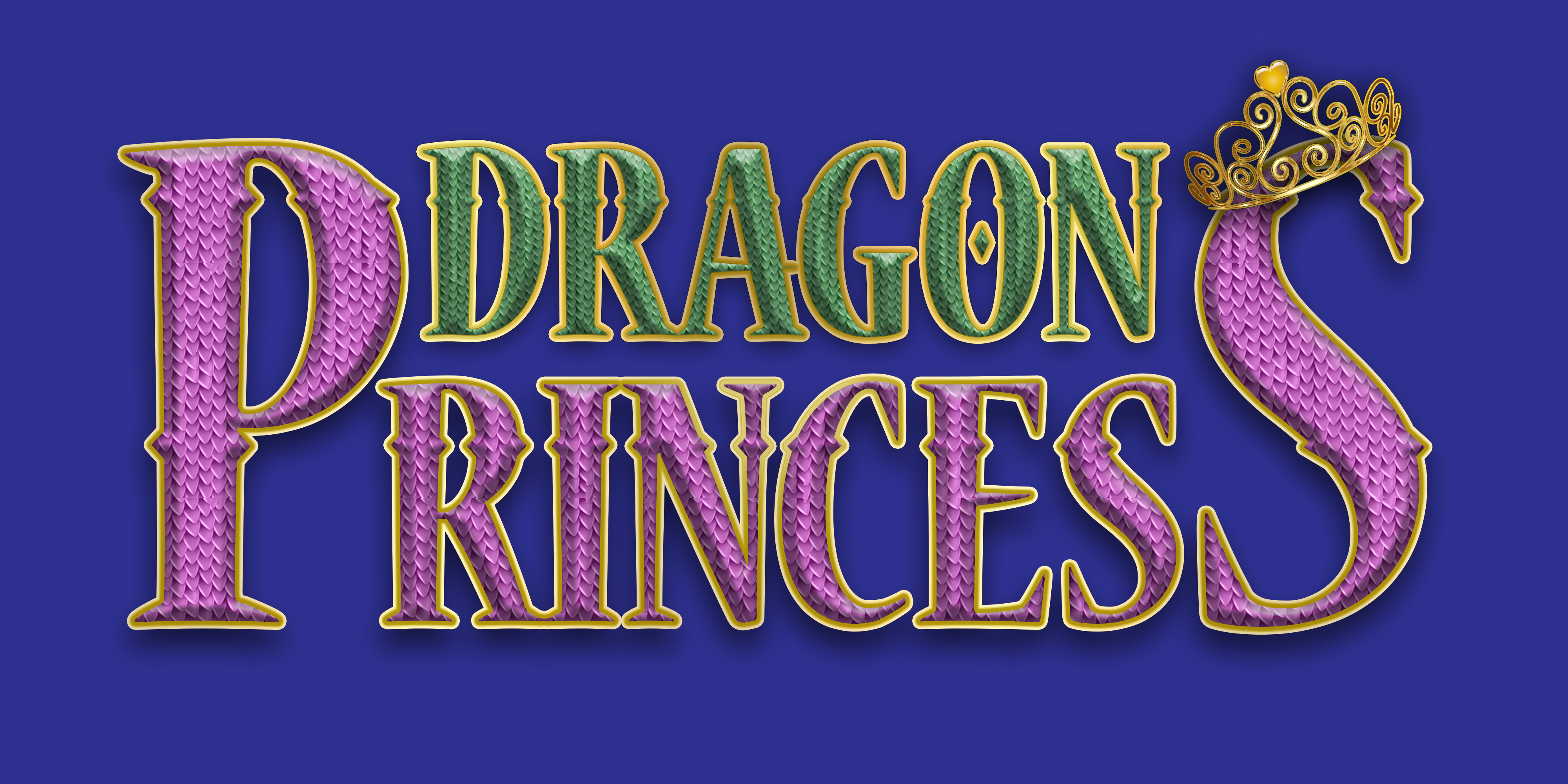 Dragon Princess Title Design