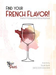 French Food Festival Poster